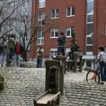 Infostand am Rehmplatz - 10.4.10