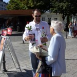 Infostand in der City - 15.8.09